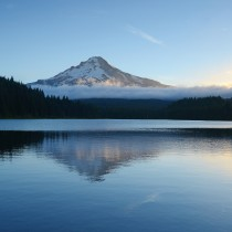 Mount Hood morning light
