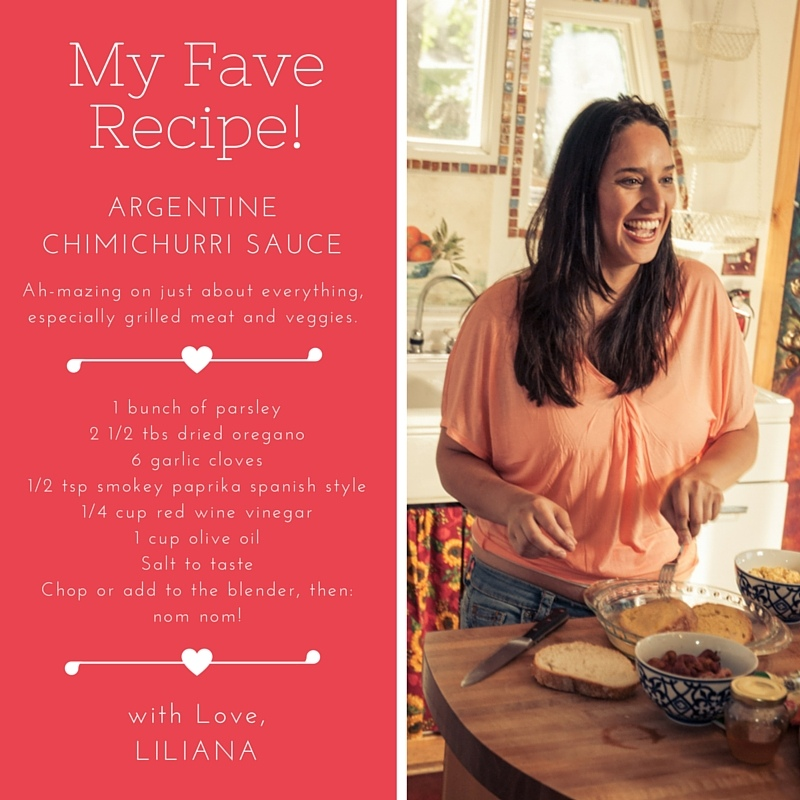 Liliana's Chimichurri Recipe